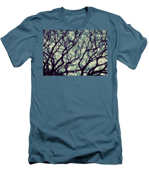 Men's T-Shirt (Slim Fit) featuring the photograph Trees by Ranjini Kandasamy