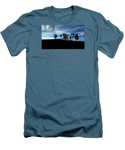 Men's T-Shirt (Slim Fit) featuring the photograph Trees by RKAB Works