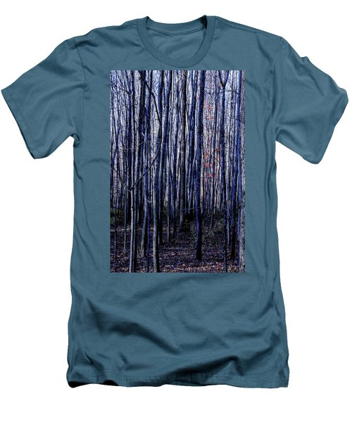 Treez Blue Men's T-Shirt (Athletic Fit)