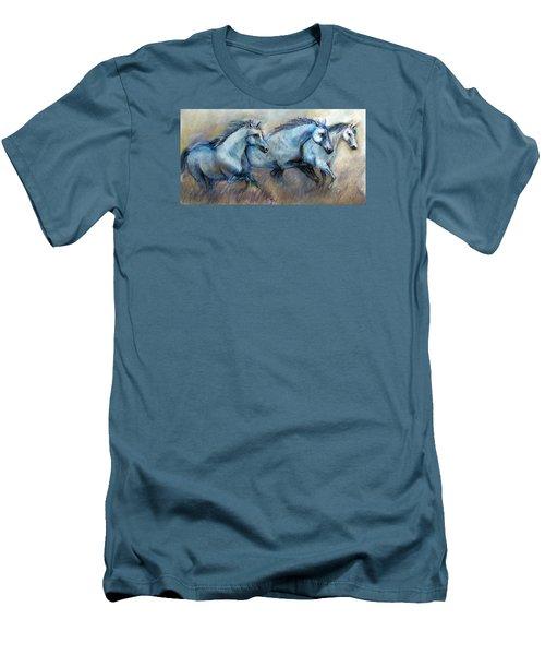 Tres Amigos Tshirt Men's T-Shirt (Athletic Fit)
