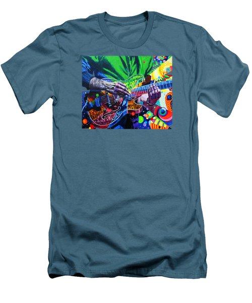 Trey Anastasio 4 Men's T-Shirt (Slim Fit) by Kevin J Cooper Artwork