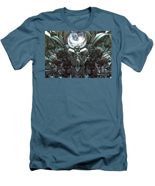 Tribal Symbols  Men's T-Shirt (Slim Fit) by Melissa Messick