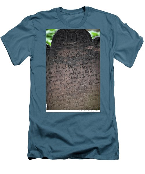 Trinity Tombstone Men's T-Shirt (Athletic Fit)