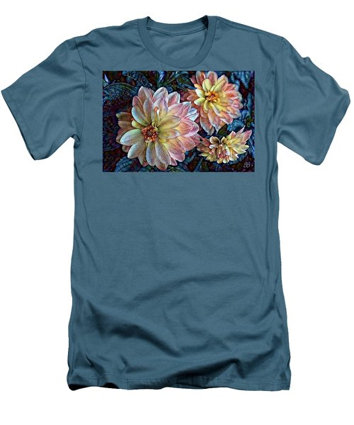 Trois Men's T-Shirt (Slim Fit) by Geri Glavis