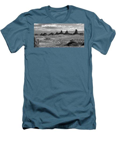Trona Pinnacles Peaks Men's T-Shirt (Athletic Fit)