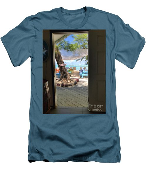Tropical Entrance Men's T-Shirt (Athletic Fit)
