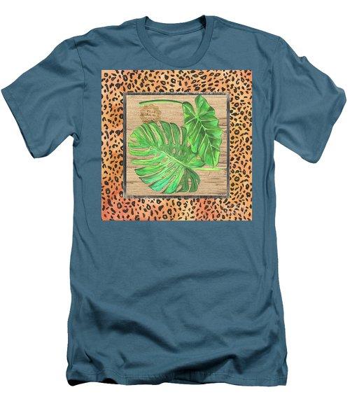 Tropical Palms 2 Men's T-Shirt (Athletic Fit)