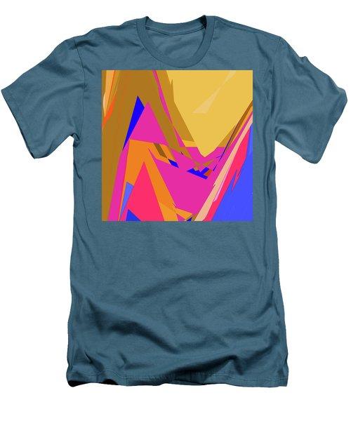 Tropical Ravine Men's T-Shirt (Athletic Fit)