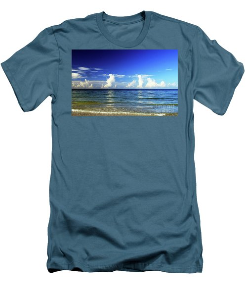 Men's T-Shirt (Athletic Fit) featuring the photograph Tropical Storm Brewing by Gary Wonning