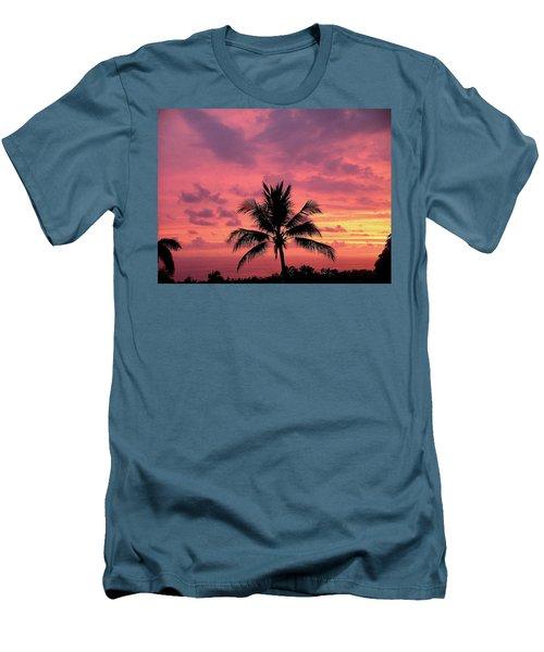 Tropical Sunset Men's T-Shirt (Athletic Fit)