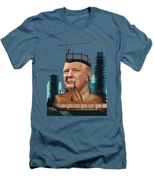 Trump Tower Men's T-Shirt (Slim Fit)
