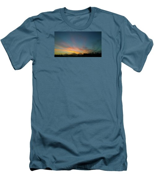 Men's T-Shirt (Athletic Fit) featuring the photograph Tuesday Sunrise by Anne Kotan