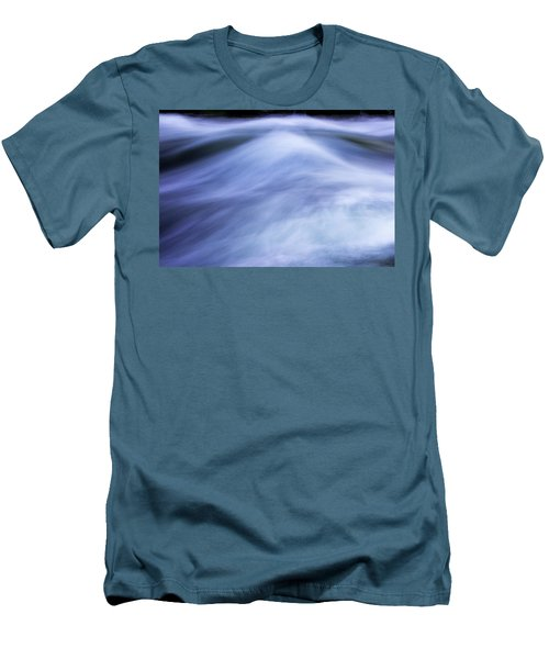 Men's T-Shirt (Slim Fit) featuring the photograph Turbulence 3 by Mike Eingle