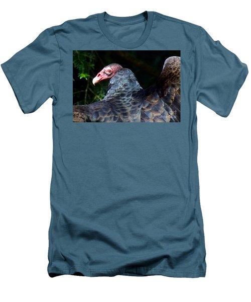 Turkey Vulture Men's T-Shirt (Slim Fit) by Sean Griffin