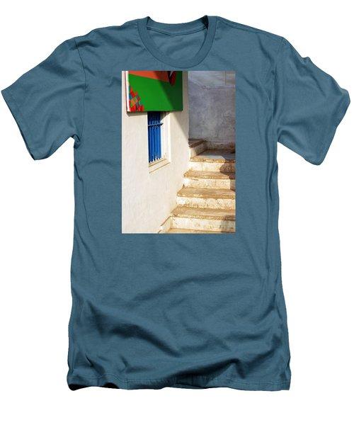 Turn Left Men's T-Shirt (Slim Fit) by Prakash Ghai