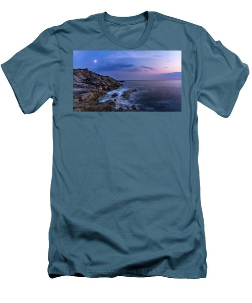 Twilight Sea Men's T-Shirt (Athletic Fit)