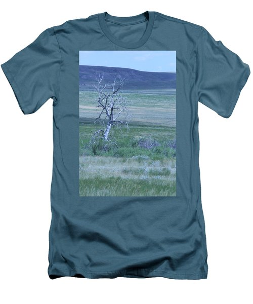 Men's T-Shirt (Slim Fit) featuring the photograph Twisted And Free by Mary Mikawoz