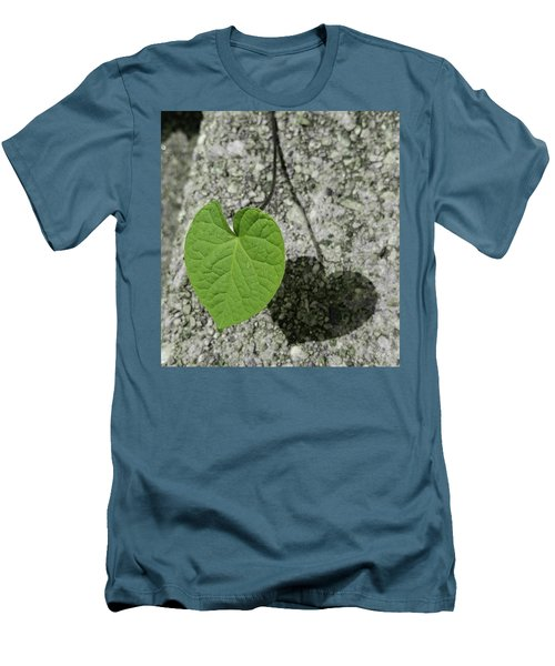 Two Hearts Entwined Men's T-Shirt (Slim Fit) by Bruce Carpenter