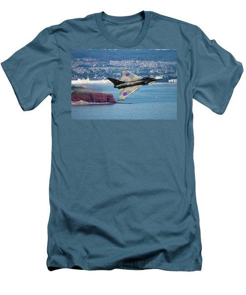 Typhoon Gina At Dawlish Air Show Men's T-Shirt (Slim Fit) by Ken Brannen