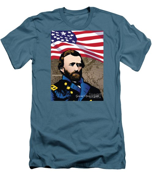 Ulysses S. Grant At Appomattox Men's T-Shirt (Athletic Fit)