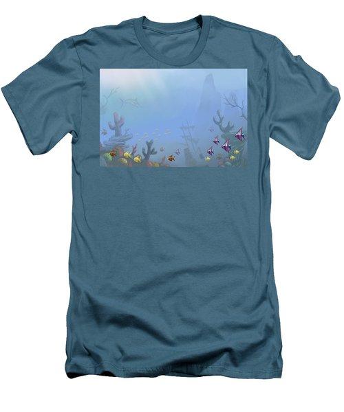 Under Sea 01 Men's T-Shirt (Athletic Fit)