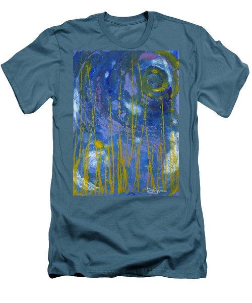 Men's T-Shirt (Slim Fit) featuring the photograph Under The Ocean by Rachel Hames