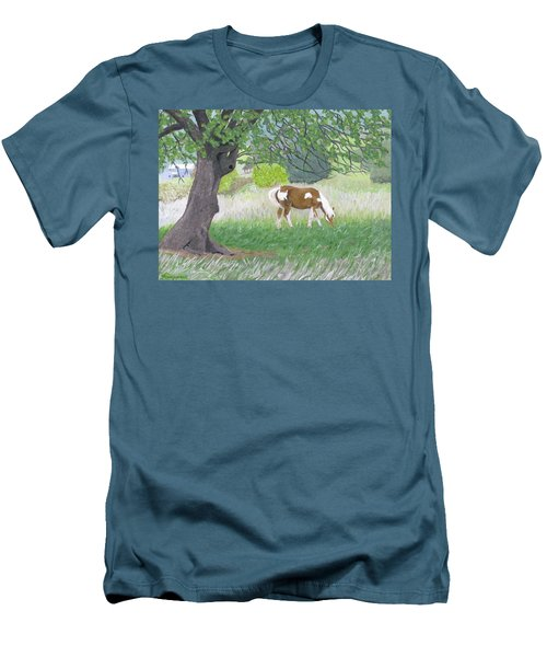 Under The Old Apple Tree Men's T-Shirt (Athletic Fit)