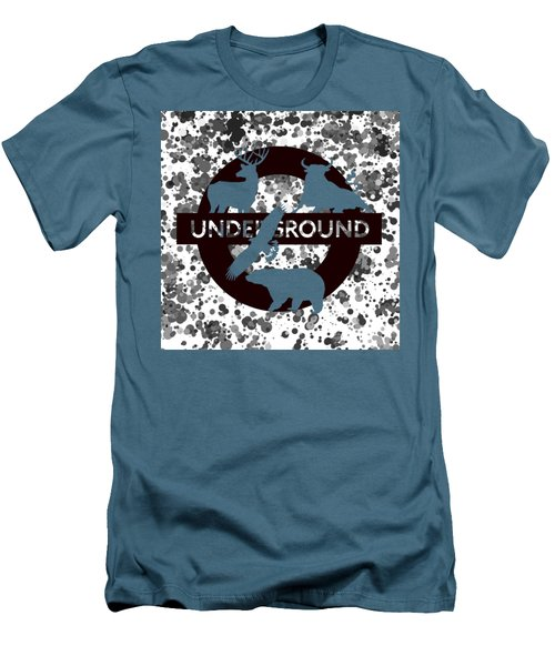 Underground.2 Men's T-Shirt (Slim Fit) by Alberto RuiZ