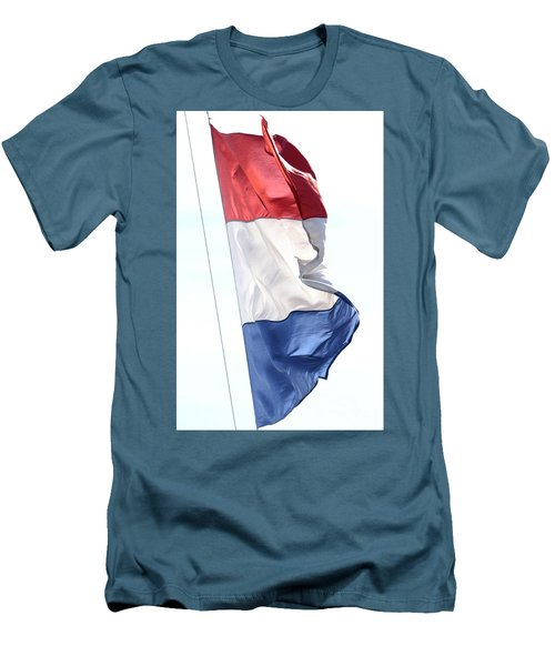 Men's T-Shirt (Athletic Fit) featuring the photograph Unfurl 03 by Stephen Mitchell