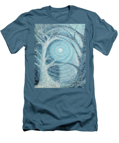 Men's T-Shirt (Slim Fit) featuring the painting Unity by Holly Carmichael