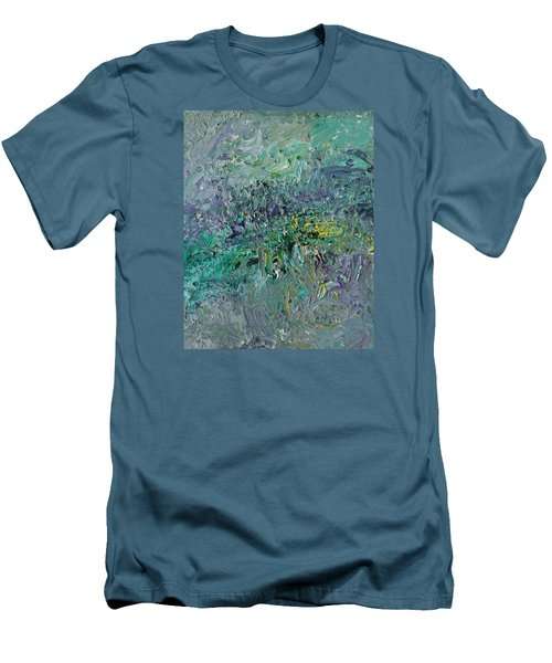 Blind Giverny Men's T-Shirt (Slim Fit) by Ralph White