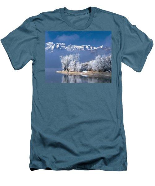 Usa, Utah, Deer Creek State Park Men's T-Shirt (Athletic Fit)