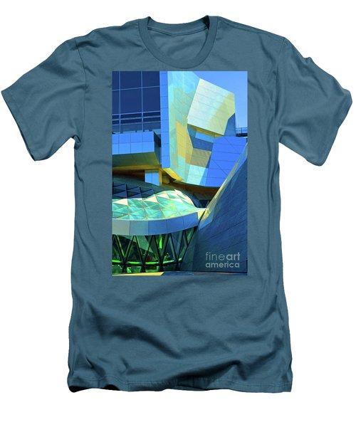 Utzon Center In Aalborg Denmark Men's T-Shirt (Slim Fit) by Eva Kaufman