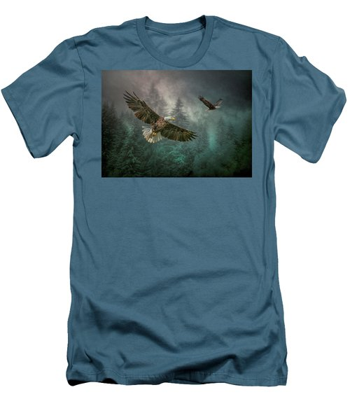 Valley Of The Eagles. Men's T-Shirt (Athletic Fit)