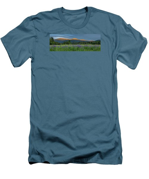 Valley Way Lupine Sunset Men's T-Shirt (Athletic Fit)