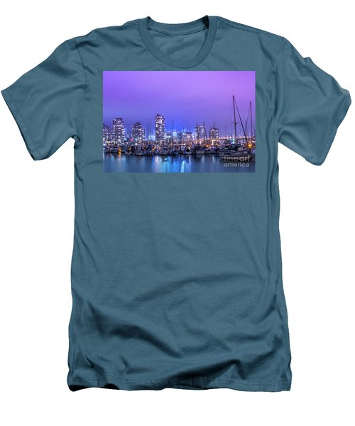 Men's T-Shirt (Slim Fit) featuring the photograph Vancouver by Juli Scalzi