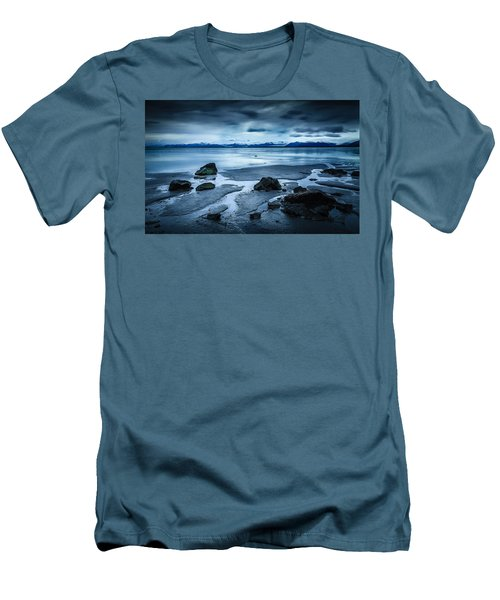 Vatnajokull From Stokksnes Men's T-Shirt (Athletic Fit)