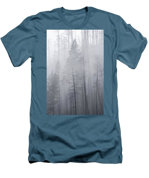 Men's T-Shirt (Athletic Fit) featuring the photograph Veiled In Mist by Dustin LeFevre
