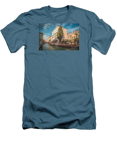 Venetian Architecture And Sky - Venice, Italy Men's T-Shirt (Athletic Fit)