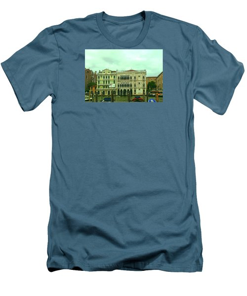 Men's T-Shirt (Athletic Fit) featuring the photograph Venetian Aternoon by Anne Kotan