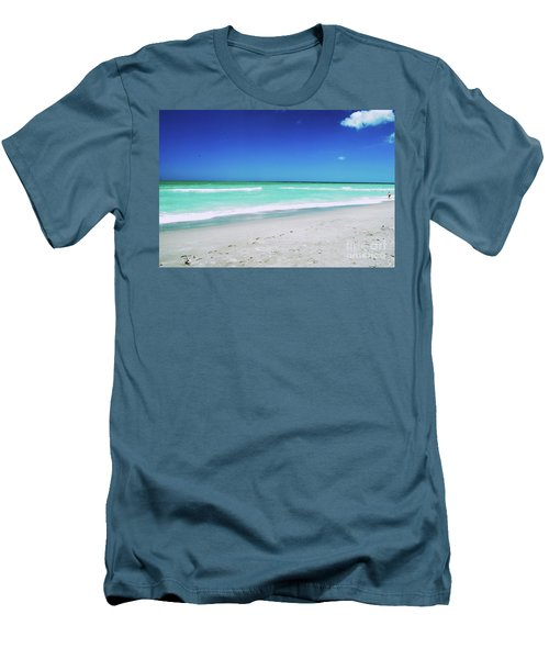 Men's T-Shirt (Athletic Fit) featuring the photograph Venice Beach by Gary Wonning