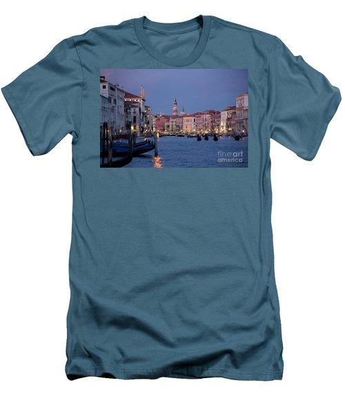 Venice Blue Hour 2 Men's T-Shirt (Athletic Fit)