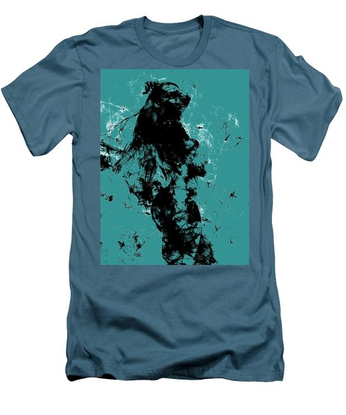 Venus Williams 4f Men's T-Shirt (Slim Fit) by Brian Reaves