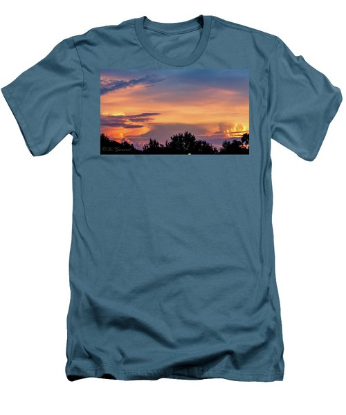 Vero Sunrise Men's T-Shirt (Athletic Fit)