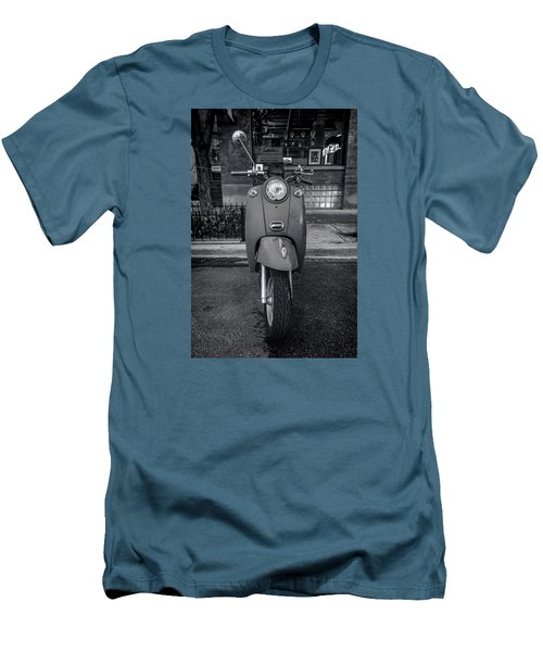 Men's T-Shirt (Slim Fit) featuring the photograph Vespa by Sebastian Musial