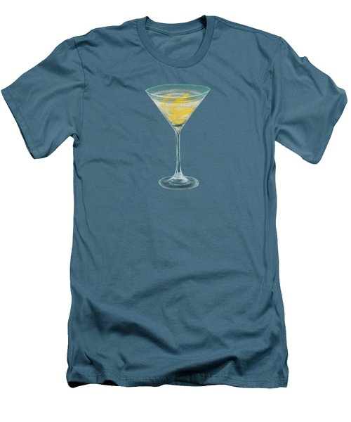 Vesper Martini Men's T-Shirt (Slim Fit) by Anastasiya Malakhova