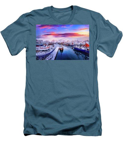Vibrant Norway Men's T-Shirt (Athletic Fit)