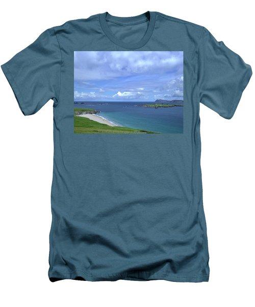 View Blasket Island #g0 Men's T-Shirt (Athletic Fit)