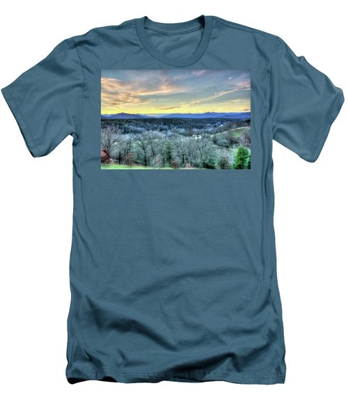 Men's T-Shirt (Slim Fit) featuring the photograph View From Biltmore by Wade Brooks