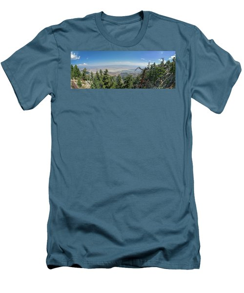 View From Mount San Jacinto Men's T-Shirt (Athletic Fit)